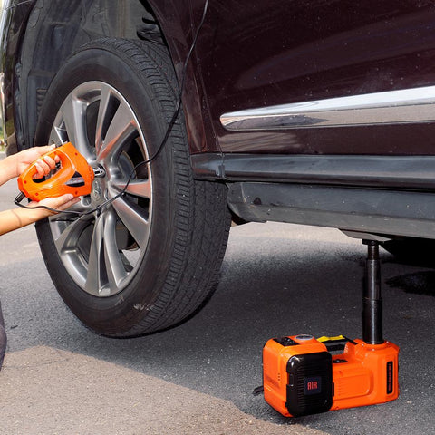 Image of 3-Function Emergency Auto Electric Hydraulic Jack