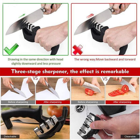 Image of best 3 stages professional knife sharpener