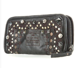 Campomaggi Studded Wallet