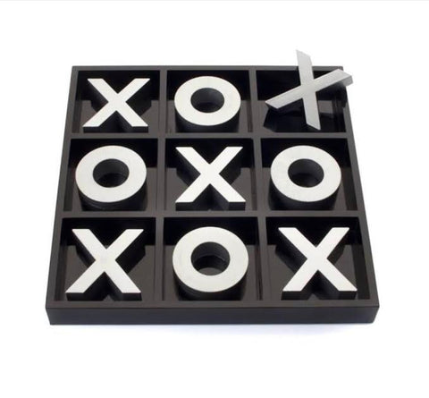 JJ Home Bellagio Tic Tac Toe Set