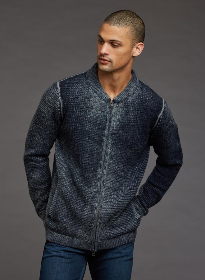 Autumn Cashmere Inked Thermal Bomber