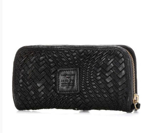 Campomaggi Woven Leather Wallet