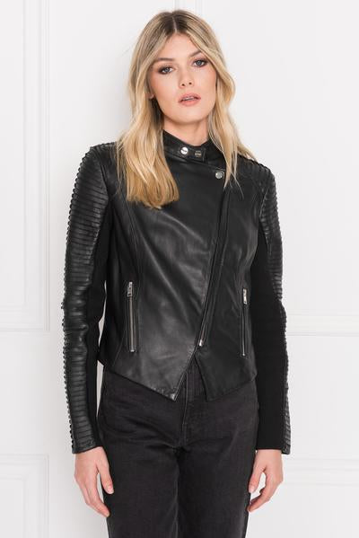 Lamarque Azra Signature Leather Jacket