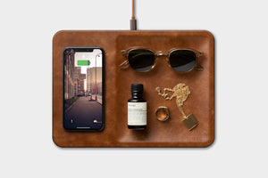 Courant Catch:3 Wireless Phone Charger and Accessory Tray
