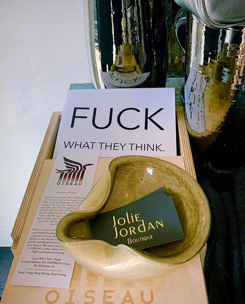 Fu*k What They Think Book By PJ Jenkins Jr.
