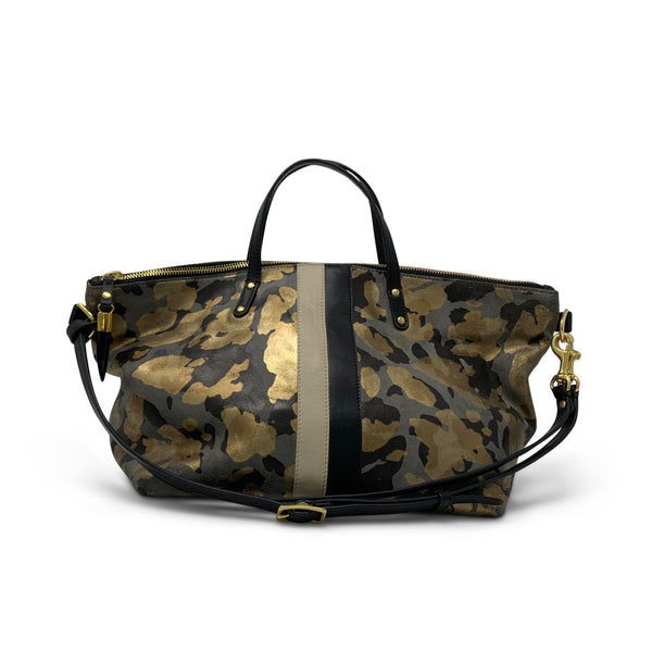 Kempton & Co. Charcoal Gold Camo Devon Holdall