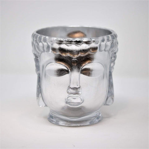 Thompson Ferrier Clear Glass Buddha Candle