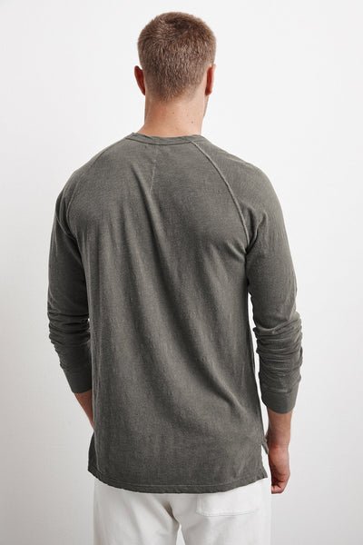 Velvet Long Sleeve Slub in Nettle