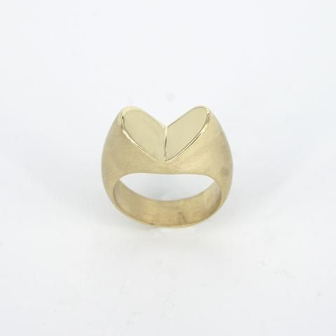 Maiko Suzuki Heart Reflection Ring
