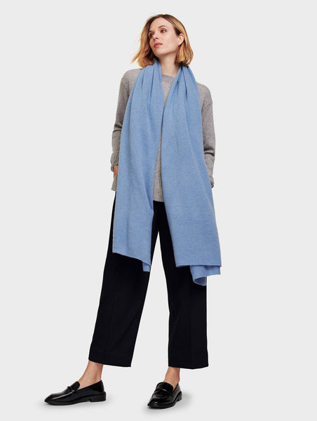 White & Warren Cashmere Travel Wrap