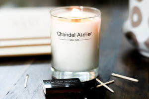 Chandel Atelier Persimmon Pumpkin Luxury Scented Candle