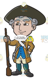 A Happy 18th Century Military Man