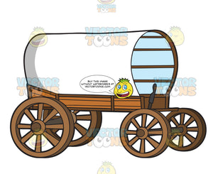 A Vintage Covered Wagon