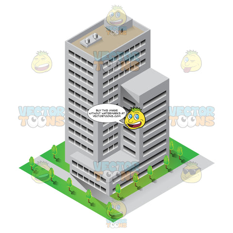 Common High Rise Business Structure