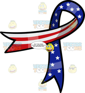 An American Lapel Ribbon