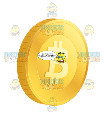Bitcoin Single Crypto-Currency On An Angle
