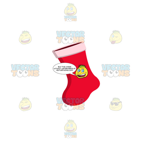 Red Xmas Stocking