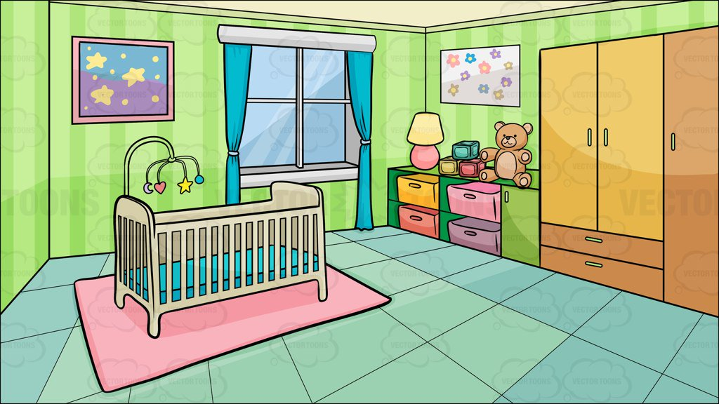 A Bedroom Of A Baby Background