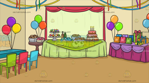 A Birthday Party Background