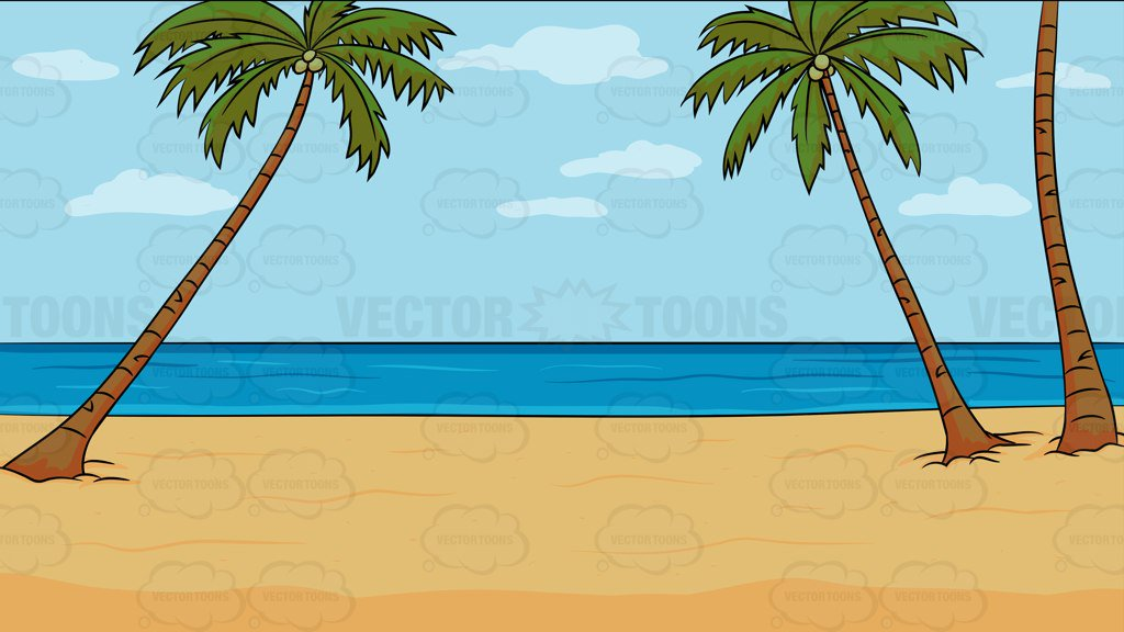 A Calm Beach Background