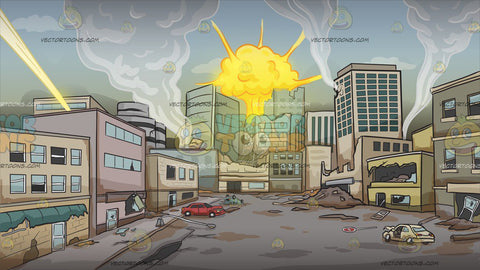A City Under Attack Background