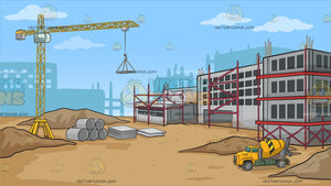 A Construction Site Background