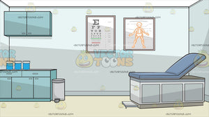 A Doctors Examination Room Background