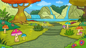 A Fantasy Fairy Land Background