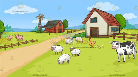 A Farm Background