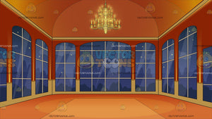 A Grand Mansion Ballroom Background