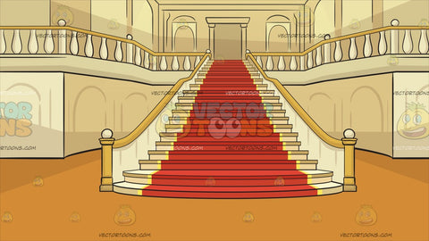 A Grand Staircase Background