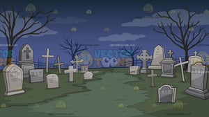 A Graveyard Background
