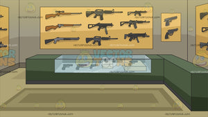 A Gun Store Background