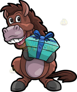 A Horse With Present