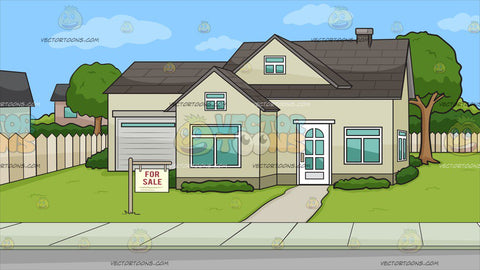 A House For Sale Background
