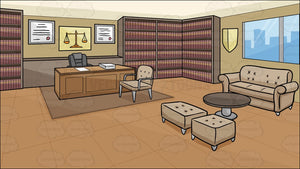 A Law Office Background