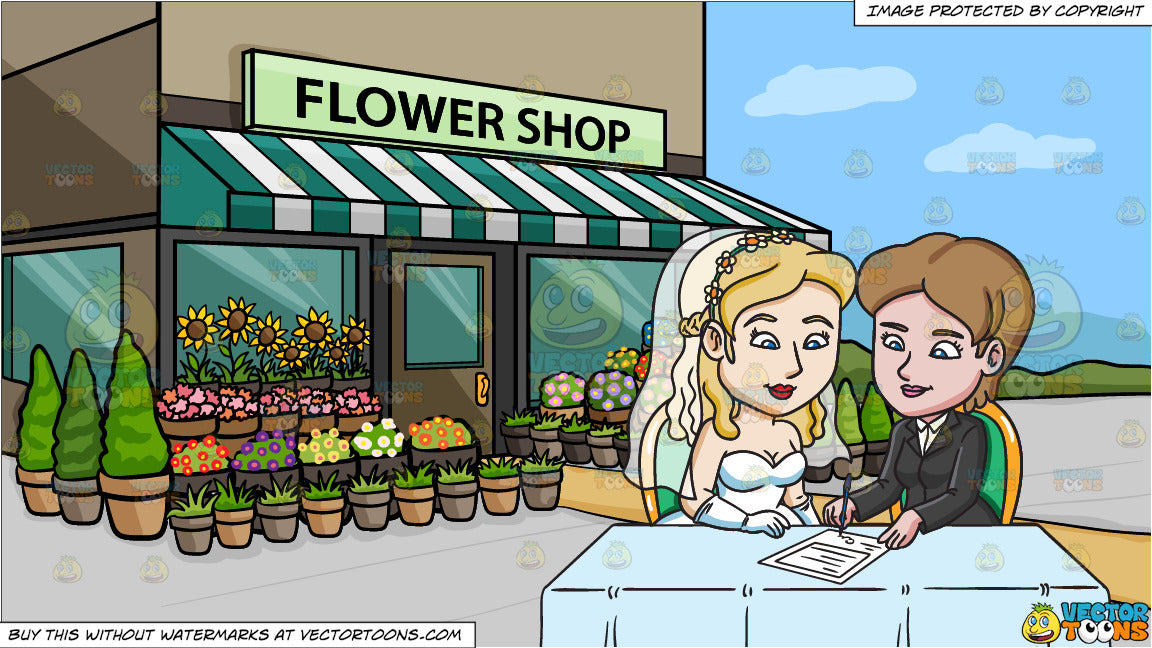Think, that flower shop lesbian