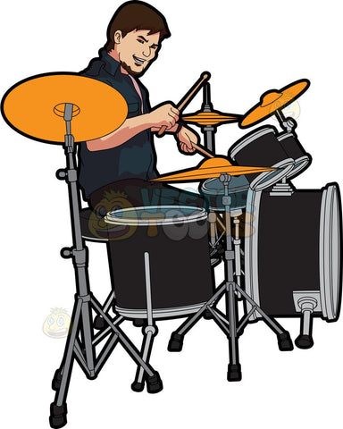 A Male Drummer
