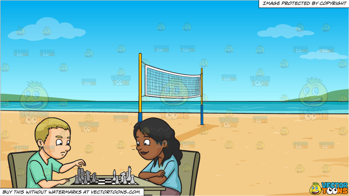 Four Girls Playing Volleyball On The Beach. Beach Volleyball,.. Royalty  Free Cliparts, Vectors, And Stock Illustration. Image 59179418.