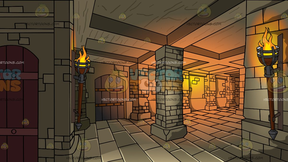 A Medieval Dungeon Background – Clipart Cartoons By ...
