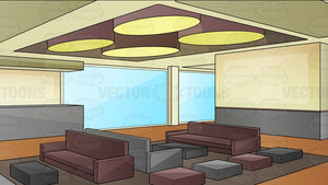 A Modern Hotel Lobby Background