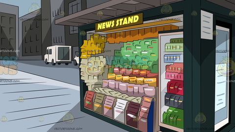 A News Stand Background
