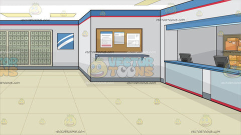A Post Office Background