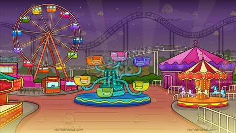 A Pretty Lively Carnival Background