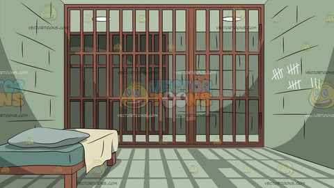 A Prison Cell Background