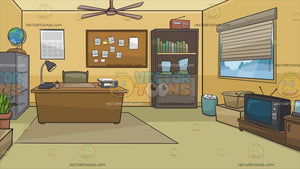 A Private Investigators Office Background