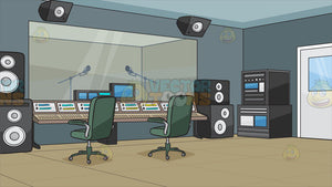 A Recording Studio Background