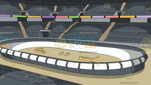 A Roller Derby Arena Background