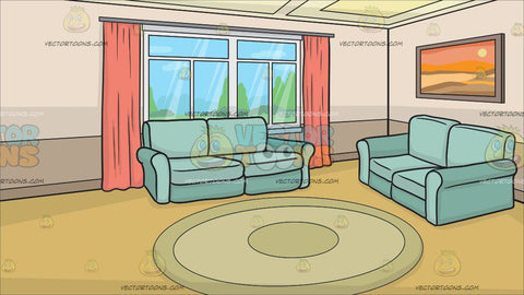 A Small Living Room Background