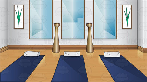 A Small Yoga Room